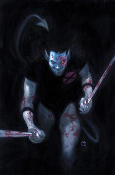 Uncanny X-Force - Nightcrawler by Julian Totino Tedesco