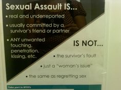 Sexual Assault Is...  - Bulletin board