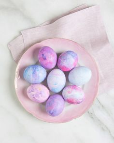 How to Dye Easter Eggs Using Shaving Cream | Martha Stewart