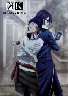 Yata Misaki & Fushimi Saruhiko | K Project Missing Kings #anime