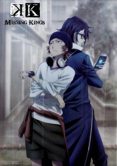 Yata Misaki & Fushimi Saruhiko | K Project Missing Kings #anime