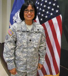 "She's among the Army's first members from Navajo tribe. Despite her five foot-one-inch frame, Lt.Col. Nathele Anderson stands tall as a Native American serving her country. ""I take every opportunity I can to tell people that I am a Native American because I'm proud of my heritage. I want people to ask about being a Native American because I don't think there's enough emphasis put on our heritage as this nation's first Americans,"" she said."