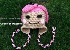 Free Crochet Character Hat Patterns | Lalaloopsy Crochet Pattern - PDF | FTLOS - Crochet on ArtFire