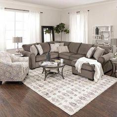 60 amazing home living room sofa design and decorating ideas Home And Living, Couches Living Room, Trendy Living Rooms, Living Decor, Farmhouse Living, Farm House Living Room, Living Room Grey, Primark Home, Living Room Designs