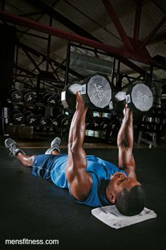 Build Muscle WIth This Dumbbell Workout - Men's Fitness - Page 2
