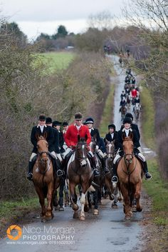 The North Cotswold Hunt (Nico Morgan Photography)