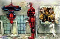 Marvel Bathroom - http://www.dravenstales.ch/marvel-bathroom/