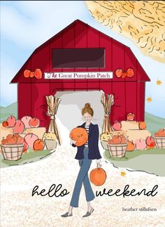 Bon Weekend, Hello Weekend, Happy Weekend, Weekend Vibes, The Great Pumpkin Patch, Happy Fall Y'all, Autumn Art, Fall Cards, Hello Autumn
