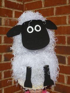 Easter Boy Hat Bonnet Lamb Sheep Paper Mache by SewCoolCreation, $14.00