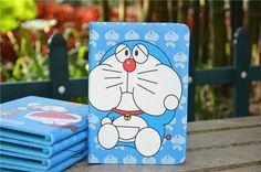 Doraemon Kartoon Schutztasche für iPad Mini, 2/3/4, Air und Air 2 - spitzekarte.com