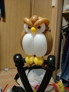 Owl Balloons, Happy Balloons, Balloon Toys, Balloon Hat, Balloon Crafts, Happy Birthday Balloons, Balloon Decorations, Baloon Diy, Ballon Animals
