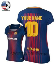 Your+name+Womens+clothes+2017/18+FC+Barcelona+plus+size+clothing.    Can+DIY+any+name+and+numbers,just+please+leave+a+messenger.And+If+you+don't+need+any+name+or+numbers,we+will+send+you+the+blank+jersey+directly.+  Digital+Direct+Printing,eco-friendly+Ink.    DETAILS  -Our+product+is+100%+polyes...