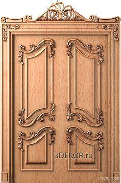 Double Door Design, Main Door, Double Doors, Wooden Doors, 3d Design, Stairs, Mirror, Columns, Architecture