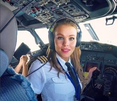 Malin Rydqvist is a Swedish #pilot based in #Croatia and she flys a #Boeing 737.