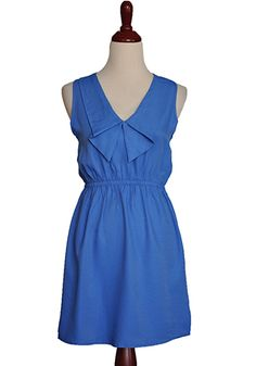 just bought a dress like this. sailor.