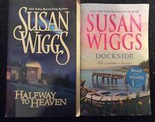 Susan Wiggs 2 PB Lot ~ Halfway To Heaven & Dock Side   ~ Free Shipping