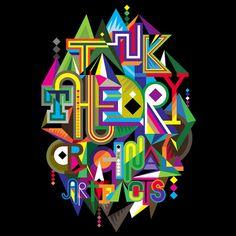 TYPE JAM ARCHIVE # 1 : Typographic T-Shirt graphics: MWM Graphics | Matt W. Moore