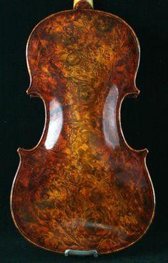 Bird Eyes Violin | Violin for sale | BIRD EYES MAPLE BACK Stradivarius violin | Shop violin on mastersviolin.com
