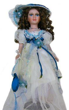 Victorian Porcelain Doll-Stunning Victorian doll-Porcelain Victorian Doll-Jennifer