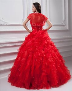 osell wholesale dropship Sweetheart Beading Flowers Floor Length Quinceanera Prom Dresses $143.51