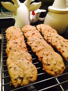 "Salted Chocolate Chip Cookies by David Bromstad... he cooks AND ""creates"""