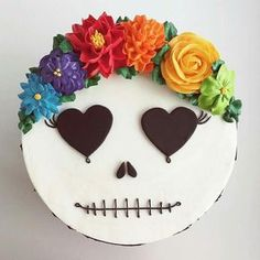 If you would like to be an expert at cake decorating, then you'll require practice and training. As soon as you've mastered cake decorating, you might become famous from the cake manufacturing business. Bolo Halloween, Halloween Torte, Halloween Treats, Cute Halloween Cakes, Halloween Birthday Cakes, Birthday Parties, Day Of The Dead Cake, Gateaux Cake, Just Cakes