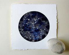 Imaginary Start Chart Painting from Natasha Newton $100