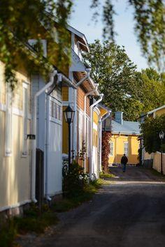 Ekenäs old town in Raseborg, Finland