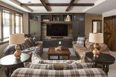Cozy Basement, Basement Living Rooms, Basement Makeover, Cozy Living Rooms, Basement Ideas, Basement Gym, Cozy Sofa, Sofa Set, Casual Family Rooms