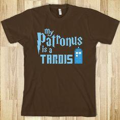 my patronus is a tardis!