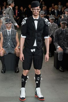 Thom Browne Spring 2015 Menswear Collection