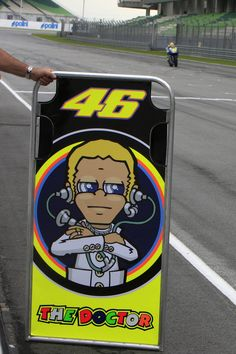 VR46 The Doctor....