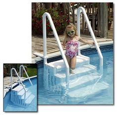 Best Above Ground Pool Stairs and Ladders | Best Above Ground Pools