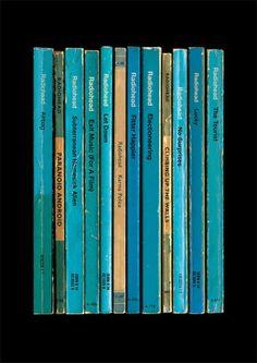 La música de Radiohead reimaginada como libros por el diseñador Simon James
