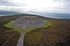 Another view of Queen Maeve's Tomb, Sligo, Ireland