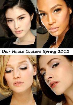 TUTORIAL: Dior Haute Couture Spring 2012 Runway Makeup