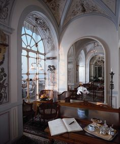 "georgianadesign: ""The Grand Hotel Excelsior Vittoria, Sorrento, Italy. """