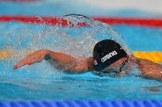 Ranomi Kromowidjojo Gold medaille 100 m freestyle Wordcup Dubai