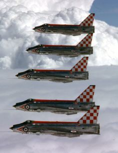 "zainisaari: "" FirebirdsBAC Lightning F.3, 56 Squadron ""Firebirds"", Royal Air Force. """
