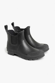 Rubber ankle boots £12 down from £30 (Jan17)