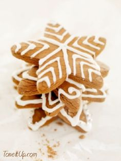 Gingerbread Cookies from Tone It Up!