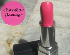 Chambor Powder Matte Lipstick Pink Flamingo: Review and Swatches