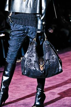 Gucci Fall 2012.... oh my. I LOVE this bag.