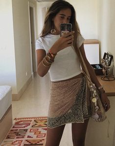 Warm Outfits, Classy Outfits, Cute Outfits, Looks Style, My Style, Modest Summer Outfits, Outfits Mujer, Fashion Design, Fashion Trends
