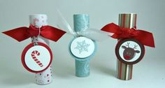 This blog has LOTS of ideas for craft show items - Including these cute little embellished glue sticks!