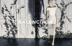 BALENCIAGA S/S 2014 CAMPAIGN | DARIA WERBOWY BY STEVEN KLEIN
