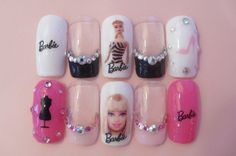 see through nails Nails Only, Get Nails, How To Do Nails, Hair And Nails, Funky Nail Designs, Funky Nails, Pretty Nails, Nice Nails, Nail Art Stickers