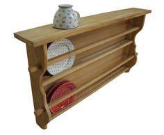 Tellerregal zweifach - Teakholz in Möbel & Wohnen, Möbel, Regale & Aufbewahrung | eBay!