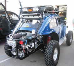 VW Beetle Off-Road Baja Bug by MR38, via Flickr