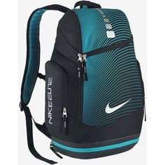 Nike Hoops Elite Max Air Graphic Backpack. Nike.com ($85) ❤ liked on Polyvore featuring bags, backpacks, rucksack bag, knapsack bags, nike, nike bag and nike backpack